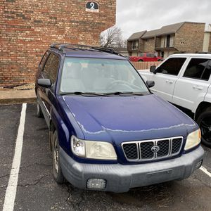 2002 Subaru Forester AWD for Sale in Stillwater, OK