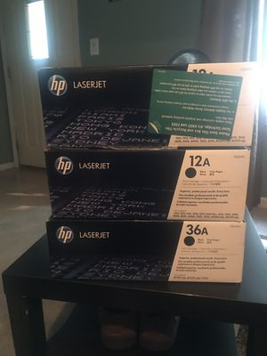 Hp laser jet printer cartridges for Sale in Lincoln Park, MI