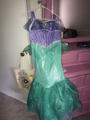 Ariel Costume 10-12 for Sale in Murfreesboro, TN