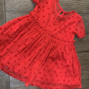 Baby Girl Red Dress Valentine's Dress for Sale in Whittier, CA