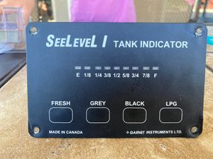 See level 1 RV tank monitor for Sale in Tustin, CA