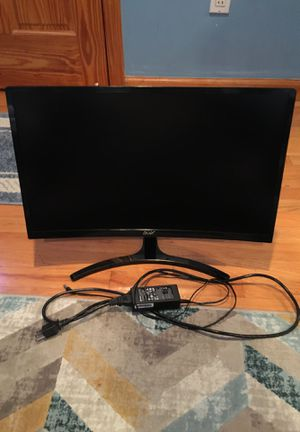 Acer 24in 144hz curved monitor for Sale in East Brunswick, NJ