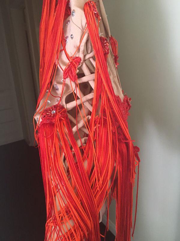 Handmade dance costume