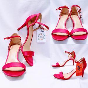 Michael Kors Satin Magenta open toe heels 10M🦄 for Sale in Parkland, WA