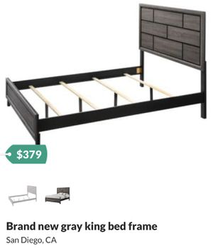 Eastern king bed frame for Sale in San Diego, CA