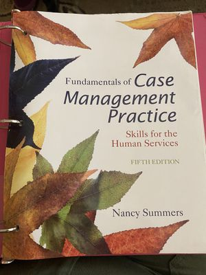 Fundamentals of Case Management Practice Fifth Edition for Sale in Tolleson, AZ