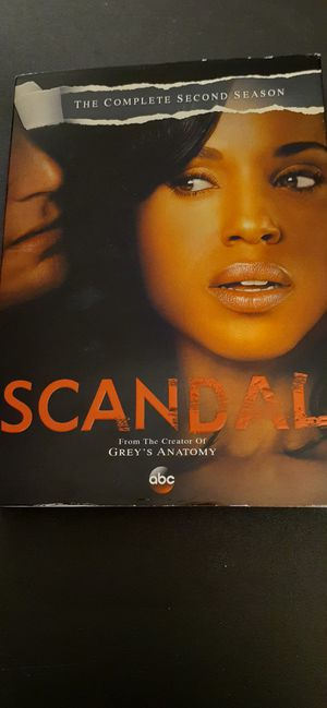SCANDAL Complete Season 2 (DVD) for Sale in Lewisville, TX