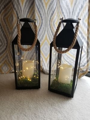 Black Metal Lanterns for Sale in Alexandria, VA