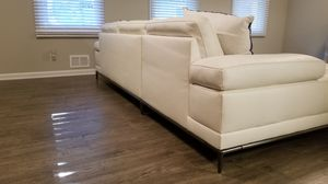 White leather couch for sale! for Sale in Acworth, GA
