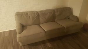 Yellow 3 -seating sofa and arm chair for Sale in Chicago, IL