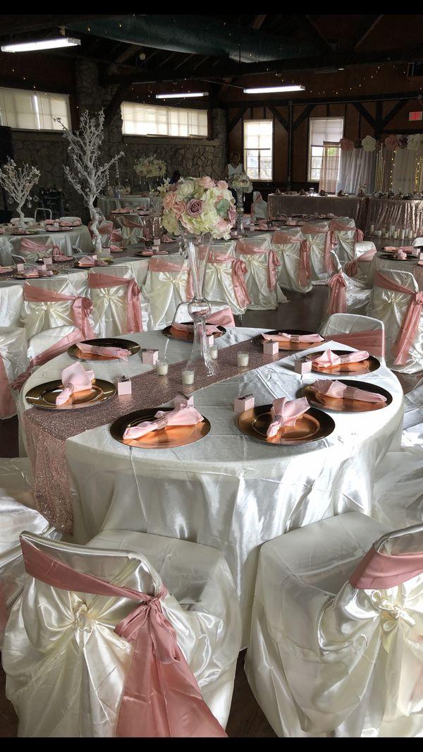 Wedding decor, centerpieces for hire