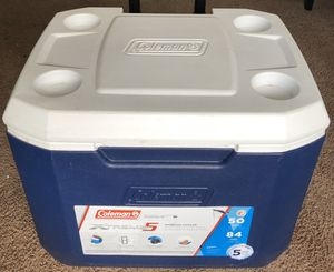 Coleman 50qt Xtreme 5-day Heavy Duty Cooler with Wheels for Sale in Fresno, CA