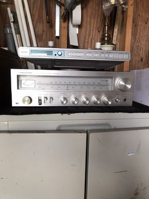 Realistic Stereo Receiver/Sony CD for Sale in Princeton, NC