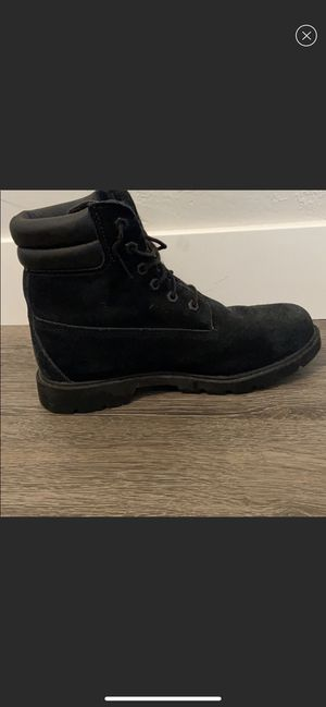 Timberland Women's Black Boots size 9 for Sale in Mesa, AZ