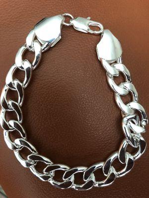 Bracelet Sterling Silver 925 Plated(Please Read Description Completely) for Sale in Seattle, WA