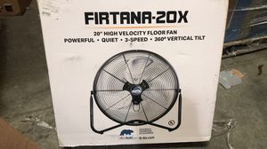 "B-Air Firtana-20X High Velocity Floor Fan Electric Industrial Shop and Home Fan, 20"" for Sale in Tracy, CA"