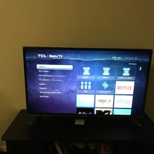 40 inch 4k tcl roku tv for Sale in Mission, TX