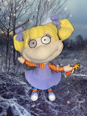 """Nickelodeon Rugrats Angelica Pickles 9"""" Plush Toy for Sale in Paramount, CA"""