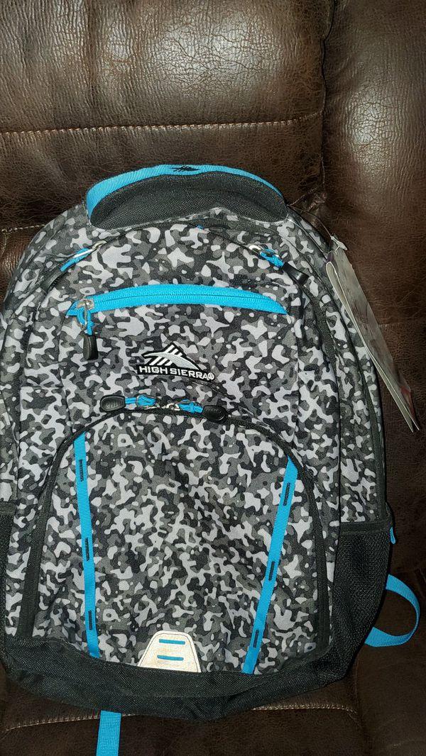 High Sierra brand backpack