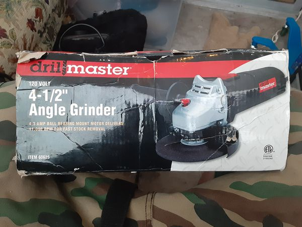 Angle grinder brand new in the box