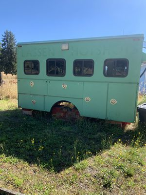 Cool One Of A Kind Unique Lassen Hot Shots Trailer Shell for Sale in Graham, WA