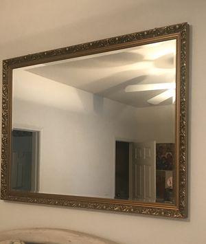 Mirror, gold, interior decoration, home decor for Sale in Murrieta, CA