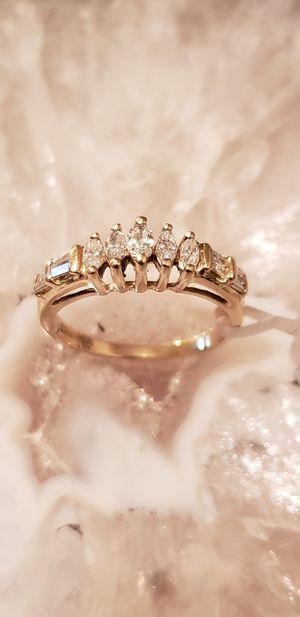 14 k diamond ring for Sale in San Jose, CA