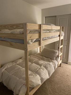Ikea Mydal Bunk beds and Mattress - Brand New - for Sale in Bellevue, WA