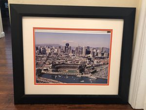 San Francisco Giants picture and frame for Sale in San Ramon, CA