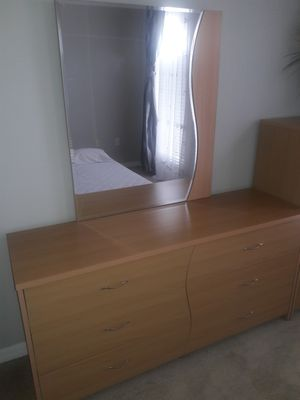 Dresser with mirror and chest. for Sale in NEW PRT RCHY, FL