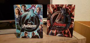 Avengers 1 and 2 4k Steelbooks MINT for Sale in Glendale, AZ