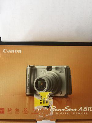 Camera Canon Power Shot A610 for Sale in Alafaya, FL