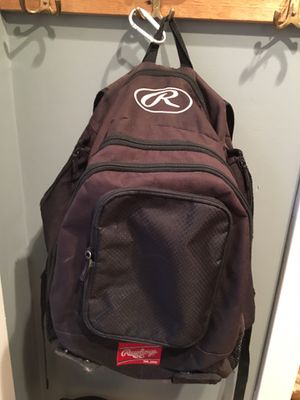 Rawlings Baseball/Softball Backpack Bag for Sale in Newtown, CT