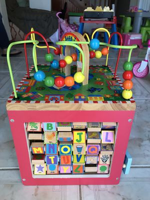 ALEX Discover My Busy Town Wooden Activity Cube for Sale in Sunrise, FL