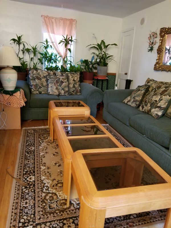 cocktail table, and 2 end tables
