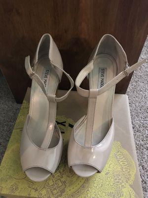 Steven Madden Peep Toe Chunky Heel Size 10 for Sale in Nashville, TN