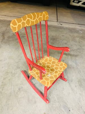 Kids rocking chair for Sale in Austin, TX