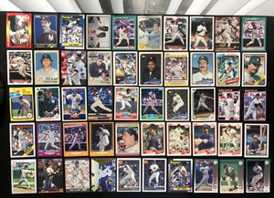 NY New York Yankees MLB Baseball Card Lot 100 cards Jeter Mattingly Williams Randolph for Sale in Tampa, FL
