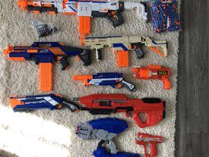 Nerf Guns Lot for Sale in Yorktown, VA