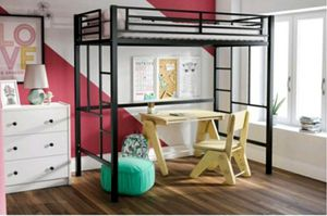 Twin loft bed frame excellent condition only used for 1 month for Sale in San Diego, CA