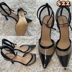 Clear Black Pumps for Sale in Quincy,  MA