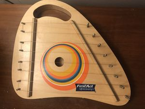 First act brand lap harp- as pictured for Sale in Olalla, WA