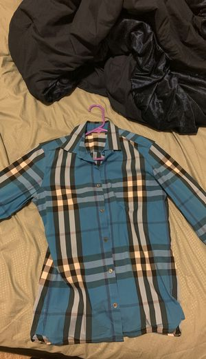 Designer Burberry Shirt for Sale in Sanford, FL