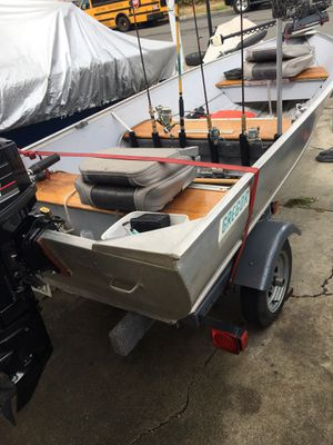 Aluminum Gregor Boat for Sale in Fremont, CA