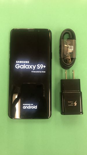 Samsung galaxy s9 Plus 64gb unlocked excellent condition for Sale in Boston, MA