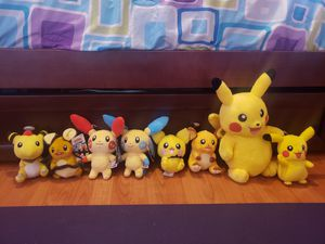 Pokémon plushies for Sale in Fort Lauderdale, FL