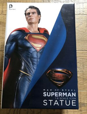 NEW Man of Steel Superman 1:6 Scale Statue collectible figure for Sale in Whittier, CA
