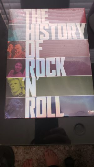 The History of Rock n Roll DVD Set for Sale in Costa Mesa, CA