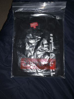Very ugly contrast stitch black supreme tee for Sale in Humble, TX