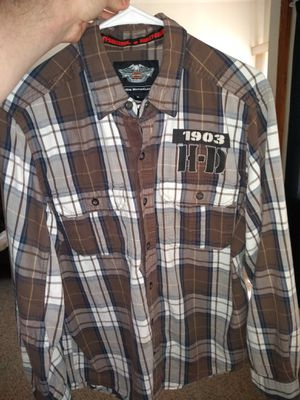 Harley Davidson Flannel for Sale in Merrill, WI